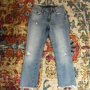 J. Crew Broke-In Boyfriend Jeans, Distressed